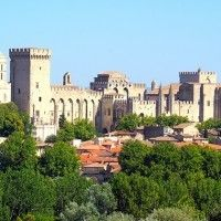 Avignon : the ancien palace of the Pope