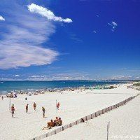 La Grande Motte : one of the beaches of Montpellier