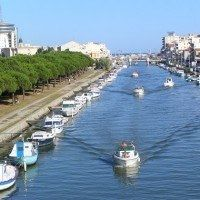Palavas les Flots : the beach resort of Montpellier