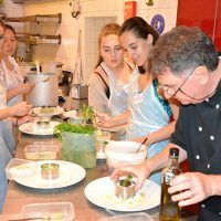 Cooking courses with a star chef