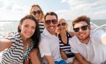 Boat Party auf dem Mittelmeer
