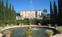Ausflug zum Chateau Flaugergues in Montpellier