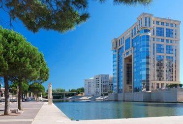 Modern Arc de Triomphe in Montpellier