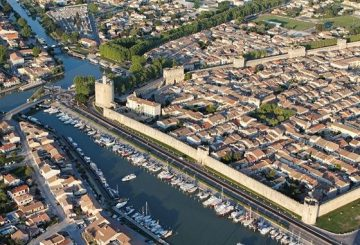 Aerial view of Aigues Mortes
