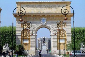 L'Arc de Triomphe de Montpellier