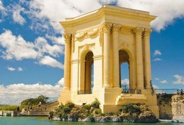 Le Chateau d'eau de la Place royale du Peyrou