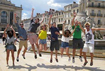 Etudiants heureux d'être à ILA