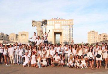 ILA white party