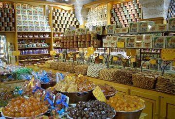 Un petit commerce de produits de la région