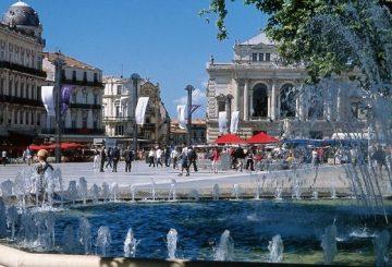 The famous « Place de la Comédie »