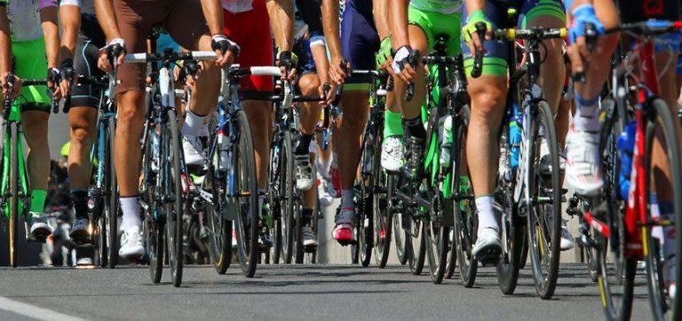 The tour de France in Montpellier