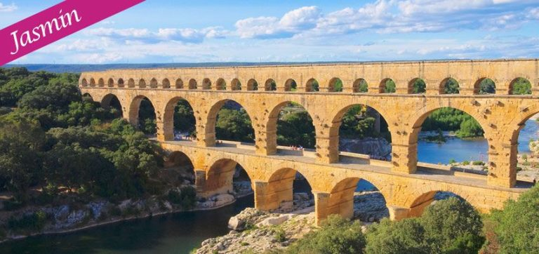 Jasmin's experience n°10: Avignon, Uzès and the Pont du Gard