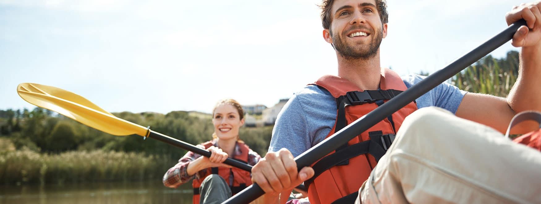 Balade en canoë-kayak sur le Lez