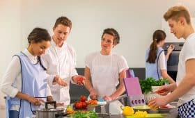 Standard French Language Course + Cooking Classes in France