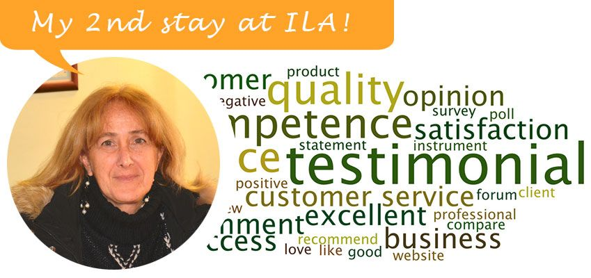Testimonial by Luisella (Italy)