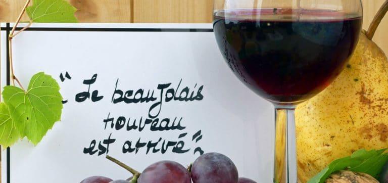 Beaujolais Wine Tasting at ILA Immersion School