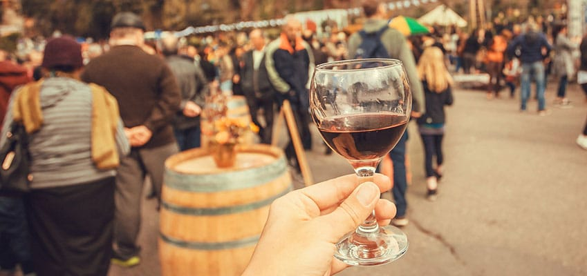 Wine Festival Fun while Learning French in Montpellier