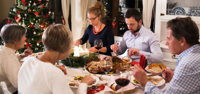 Christmas Dinner With My Old Host Family During My Language Stay in France