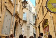 Die Führung durch die historische Altstadt von Montpellier