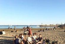 Palavas - strandhäng i Montpellier