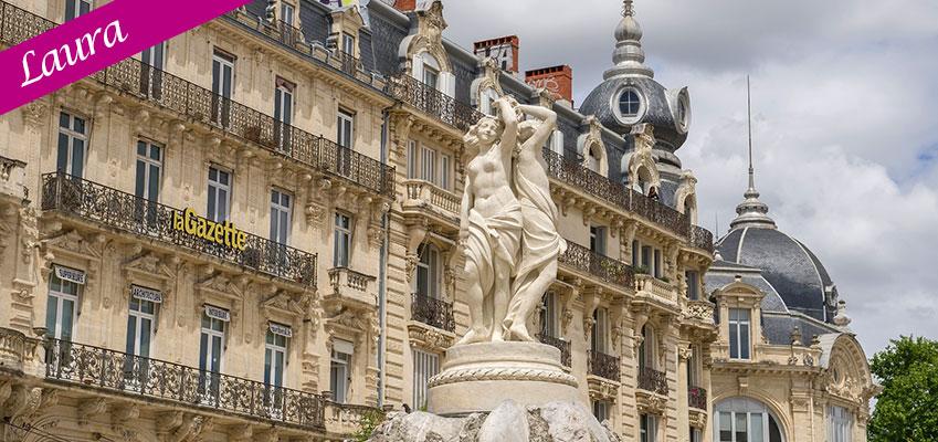 Locación y Estadía en Montpellier mientras Inversión Lingüística en Francia