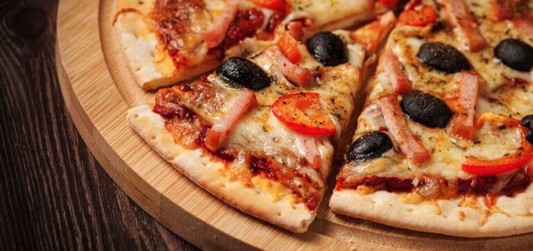 Une Pizza au Soleil pendant mon Cours de Français à Montpellier